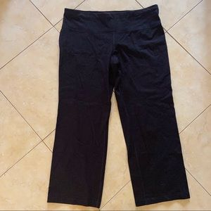 Athletic Works XXL Short Black Stretch Pants NWOT